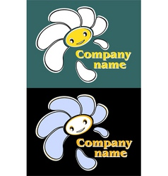 Logo flower vector
