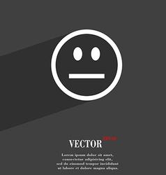 Sad face sadness depression icon symbol flat vector