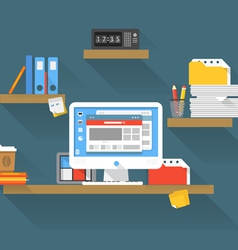 Working place vector