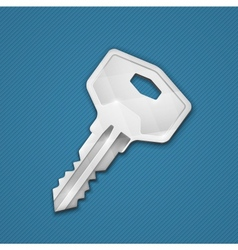 Steel key vector
