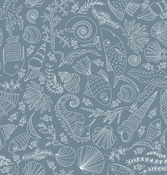 Ocean pattern vector