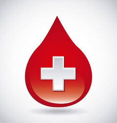 Donate blood design vector