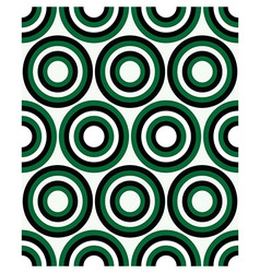 Fashion geometrical pattern with circles vector