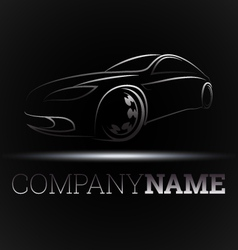 Design for auto business vector