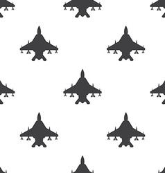 Fighter seamless pattern vector