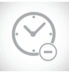 Reduce time icon vector