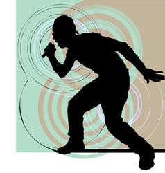 Artists of hip hop vector