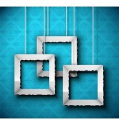 Hanging frame vector