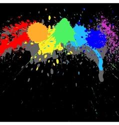 Ink background vector