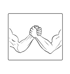 Powerful handshake vector