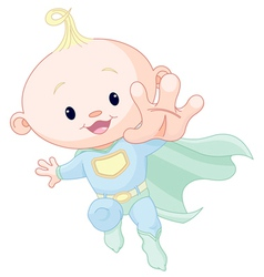 Super baby boy vector