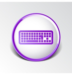Icon keyboard laptop input put key alphabet tool vector