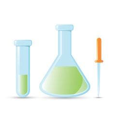 Medical chemistry supply vector