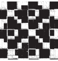 Texture checker grunge vector