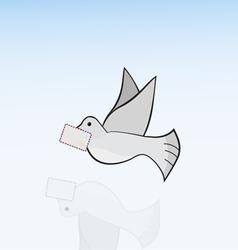 Carrier-pigeon vector
