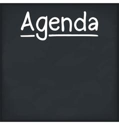 Agenda vector