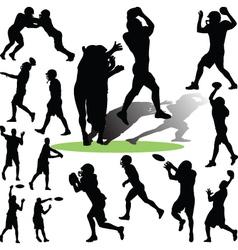 Footballplayer vector
