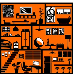 Home styling vector