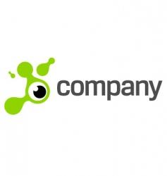 Eye photography logo vector