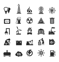 Industrial icons3 vector
