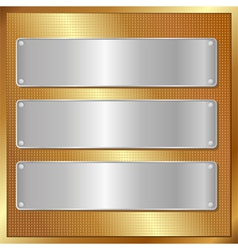 Panel banners vector