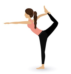 Dancer design vector