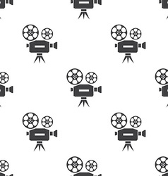 Video seamless pattern vector