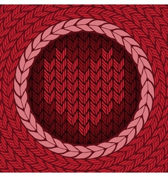 Knitted background 4 preview vector