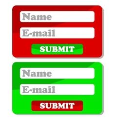 Web forms vector