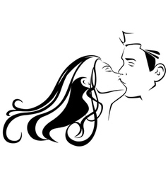 Kissing vector