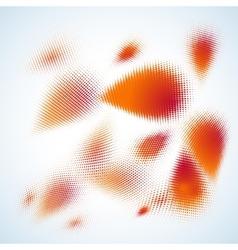 Abstract halftone design eps 10 vector