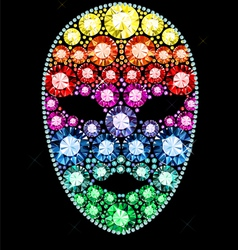Gem mask vector