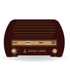 Level of coffee the radio vector