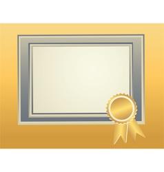 Border frame template vector