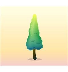 A pine tree vector