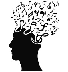 Musical note head vector