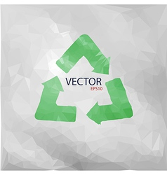 Recycled paper vector