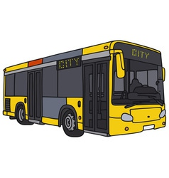 City bus vector