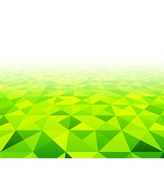 Summer view field background vector