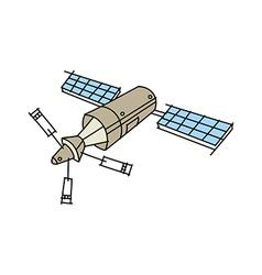 Icon satellite vector