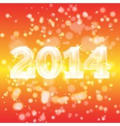 2014 glass text vector
