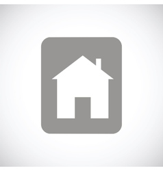 Home black icon vector
