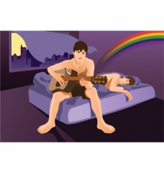 Gay love vector