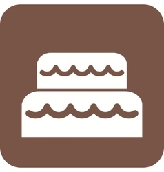 Mouse cake vector