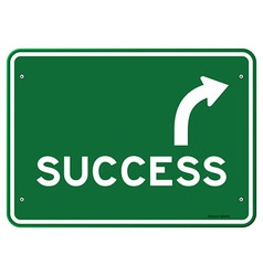 Success sign vector