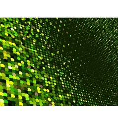 Abstract dot green mosaic background eps 8 vector