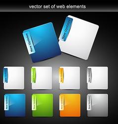 Web element design vector