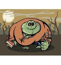 Zombie lover vector