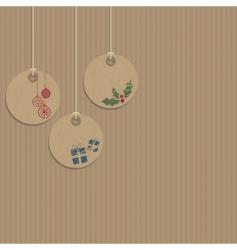 Decorative tags vector