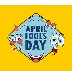 Fools day vector